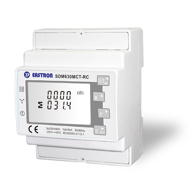 Modbus EASTRON SDM630MCT-MV Zähler AC 400V Digital Multif